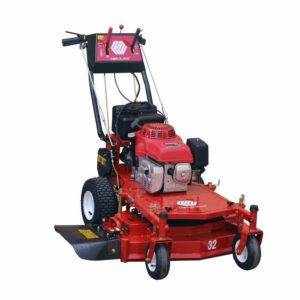 Worldlawn 32 in. Honda Electric Start W/Recoil Backup Gas Self Propelled Walk Behind Mower