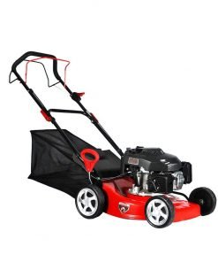 Wotefusi Garden New 18 inch Automatic Gasoline Grass Lawn Mowers for Factory Hospital Patio 4 Stroke
