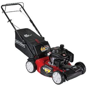 "Craftsman 21"" 159cc Front Wheel Drive Lawn Mower with AutoChoke"