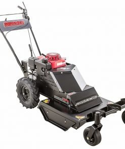 Swisher WHERC10224C 10.2HP 12V Honda Casters Commercial Pro Walk Behind Rough Cut, Black, 24""
