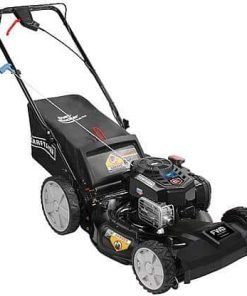 "Craftsman 37441 21"" 163cc Briggs & Stratton Front-Wheel Drive Push Mower with High Rear Wheels"