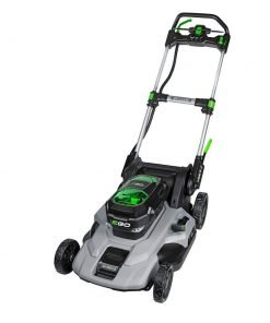 "EGO Power+ 21"" Poly Deck Dual-Port Self Propelled Lawn Mower with (2) 5.0Ah Batteries & Charger"