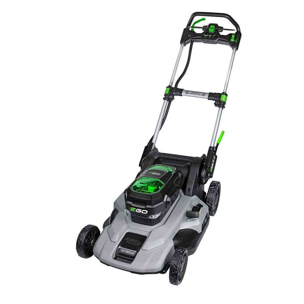 Ego Power 21 Poly Deck Dual Port Self Propelled Lawn Mower