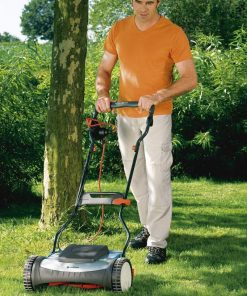 "Gardena 04028-20 ""380 Ec"" Electric Mower - Grey/Orange"