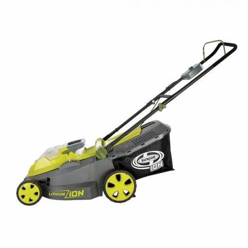 Sun Joe iON16LM 40 V 16-Inch Cordless Lawn Mower with Brushless Motor