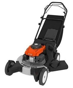 "Turf Beast 26FB3M16 26"" 208cc 3-in-1 features bag/discharge/mulch, Rear Wheel Variable Speed Drive w Blade Brake Clutch"