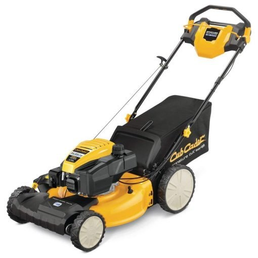 Toucan City Gas Can and Cub Cadet 21 in. 159cc Front-Wheel Drive 3-in-1 High Rear Wheel Gas Self Propelled Walk Behind Lawn Mower SC300HW