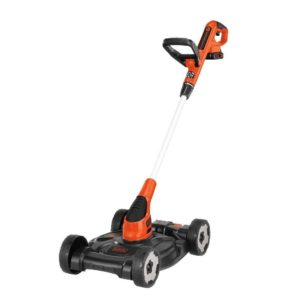 BLACK+DECKER MTC220 12-Inch Lithium Cordless 3-in-1 Trimmer/Edger and Mow