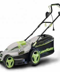 Black Loop Style Electric Mulching Lawn Mower 10-Amp