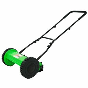 DS1200LD 12-Inch 5-Blade Height Adjusting Push Reel Mower- Lawn Demon
