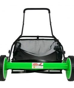 DS1600LD 16-Inch 5-Blade Height Adjusting Push Reel Mower- Lawn Demon