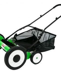DS2000LD 20-Inch 5-Blade Height Adjusting Push Reel Mower Lawn Demon