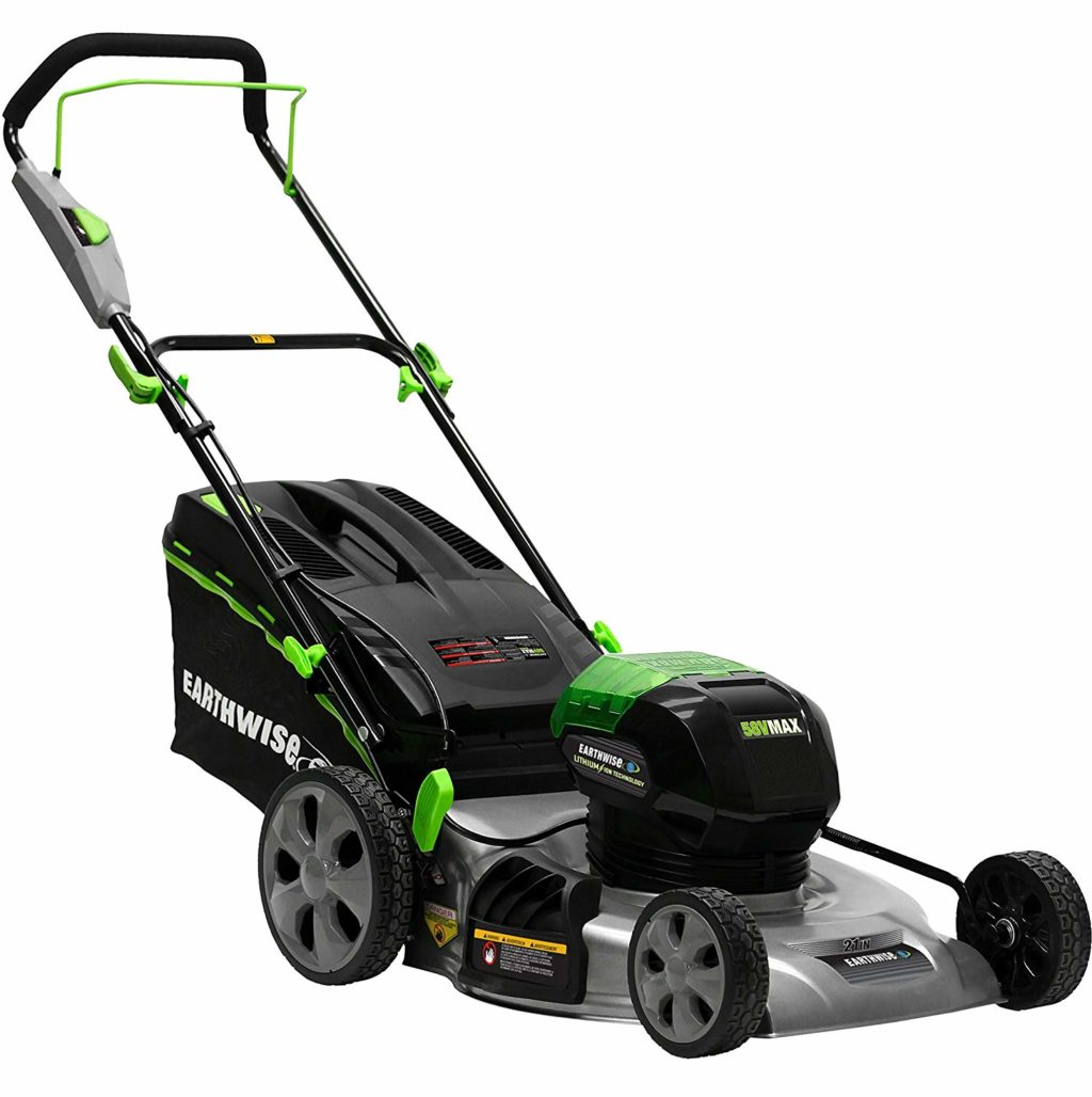Earthwise 65821 58 Volt 3 In 1 Cordless Electric Push Lawn