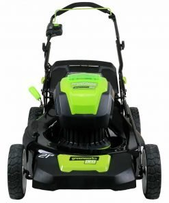 Greenworks PRO 21-Inch 80V Cordless Lawn Mower, Two 2.0AH Batteries Included GLM801601 2