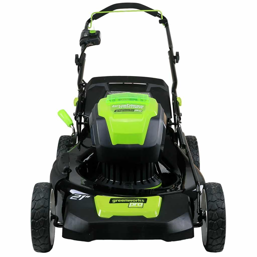 Greenworks Pro 21 Inch 80v Cordless Lawn Mower Glm801601