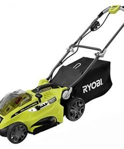 Ryobi P1102A 16 in. ONE+ 18-Volt Lithium-Ion Hybrid Cordless or Corded Lawn Mower (Battery and Charger Not Included)