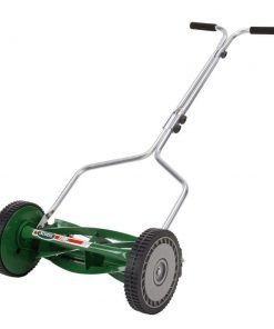 Scotts 14 in. 5 Tempered Alloy Steel Blade Reel Mower, Manual Push Design Lawn Mower with No Gas, No Oil, No Fumes, No Cord