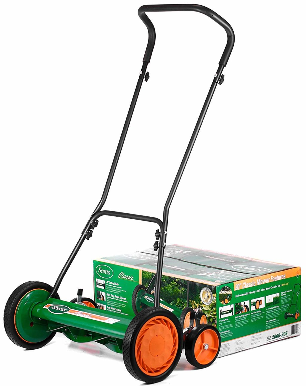 Scotts 2000 20 20 Inch Classic Push Reel Lawn Mower