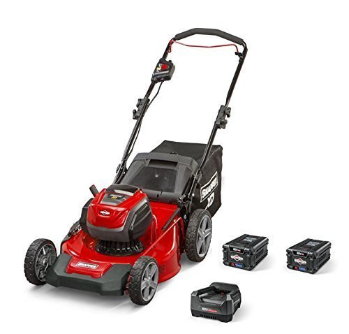 Snapper XD SXDWM82K 82V Cordless 21-Inch Walk Mower Kit with (2) 2Ah Battery & (1) Rapid Charger, 1687884