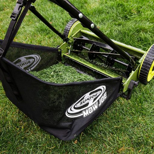 Sun Joe MJ500M Mow Joe 16-Inch Manual Reel Mower with Catcher