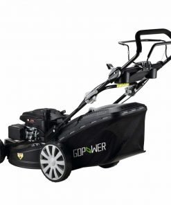 Suny Deals Gas Push Lawn Mower 3-in-1 Discharge Self Propelled Lawn Mower 161cc, Black (20Inch)
