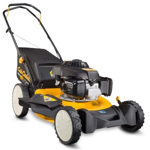 Toucan City Gas Can and Cub Cadet 21 in. 160cc Honda 3-in-1 High Rear Wheel Gas Walk Behind Push Mower SC100H