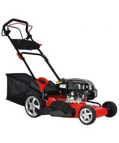 Zinnor 20 Inch 173CC Self-Propelled Cordless Lawn Mower Gas Powered, Red